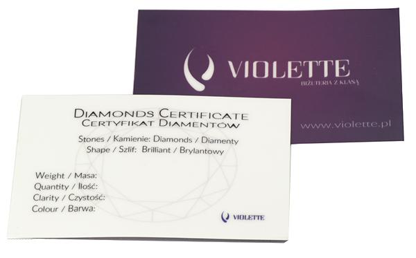 Certyfikat Diamentow